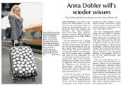 Anna Dobler unterwegs