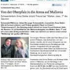 Andreas Hofer und Anna Dobler im Oberpfalz Netz