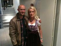 Schauspieler Jürgen Vogel und Anna Dobler