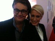 Top-Model-Juror Rolf Scheider und Anna Dobler