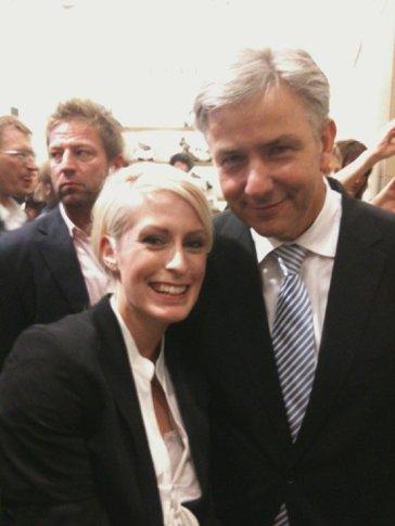 Anna Dobler und Klaus Wowereit (Politik)